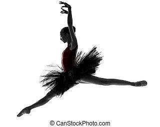 芭蕾舞女演員, 芭蕾舞, 婦女跳舞, 年輕, 舞蹈演員