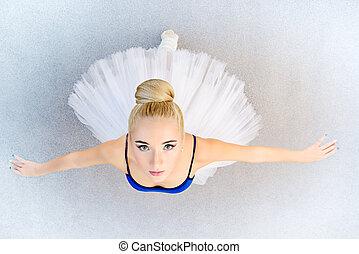 芭蕾舞女演員, 跳舞