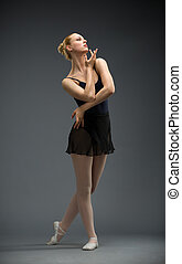 芭蕾舞女演員, 長度, 充分, 跳舞