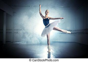 芭蕾舞舞蹈演員, 跳舞