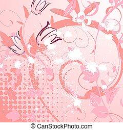 花のパターン, チューリップ