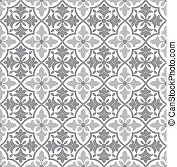 花のパターン, ベクトル, seamless