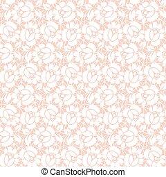 花のパターン, レース