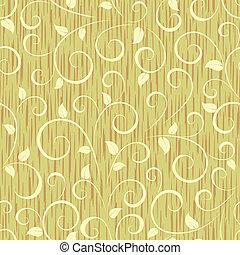 花のパターン, 抽象的, seamless, 背景