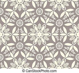 花のパターン, 民族