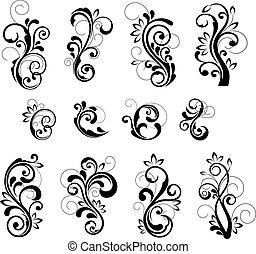 花のパターン