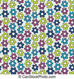花のパターン, flowers., seamless