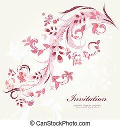 花の意匠, 蝶, 装飾, あなたの