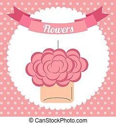 花の 装飾