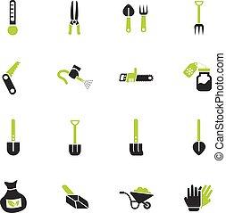 花園工具, 圖象, 集合