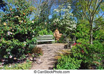 花園, 撤退