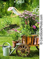花園, 田園詩