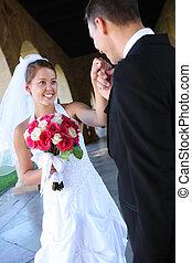花婿, 花嫁, 結婚式