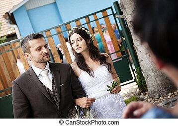 花嫁と花婿