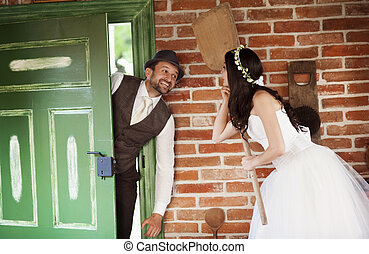 花嫁と花婿, 国, スタイル, 結婚式