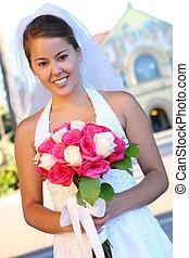 花嫁, アジア人, 結婚式