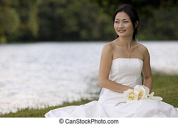 花嫁, アジア人, 10
