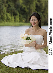 花嫁, アジア人, 7