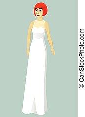 花嫁, 服, 監督しなさい, 結婚式