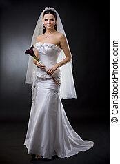 花嫁, 服, 結婚式
