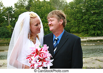 花嫁, 父