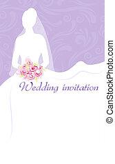 花嫁, 結婚式の招待