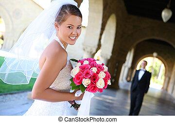 花嫁, 結婚式