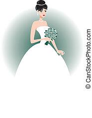 花嫁, 美しい