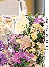 花嫁, 花婿, テーブル