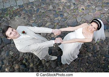 花嫁, 花婿