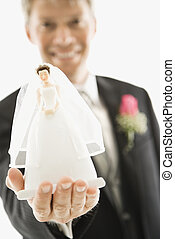 花嫁, 花婿, figurine.