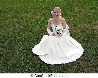 花嫁, 草