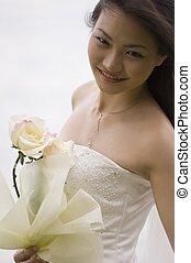 花嫁, 20, アジア人