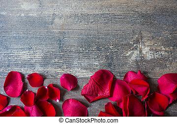 花弁, 木, 赤