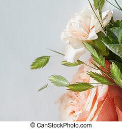 花束, デリケートである, 結婚式