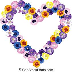 花束, 形づくられた心