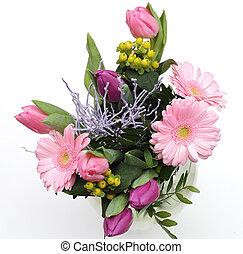 花束, 新たに, 花