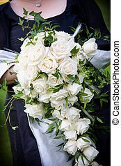 花束, 白い花, 結婚式, 整理