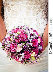 花束, 終わり, 結婚式