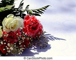 花束, 結婚式