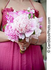 花束, 結婚式, 花