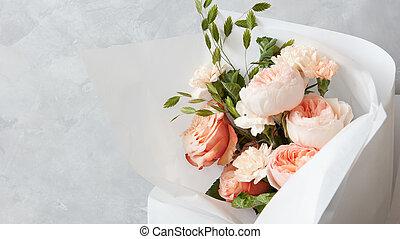 花束, 美しい, 花