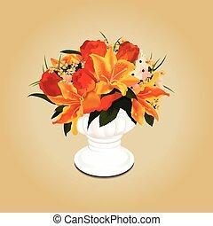 花束, 花のつぼ