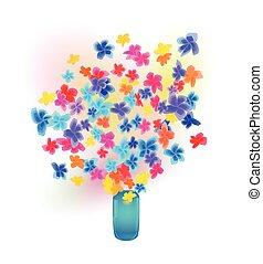 花束, 花, つぼ