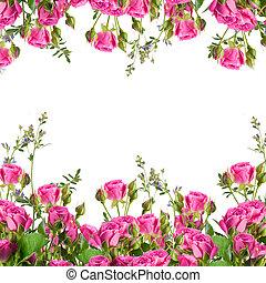 花束, 花, ばら, デリケートである, 背景