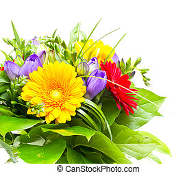 花束, 花, カラフルである