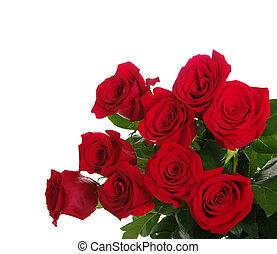 花束, 赤いバラ