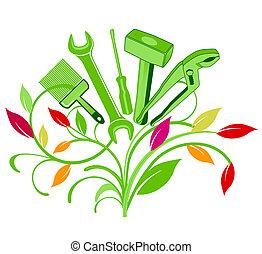 花束, 道具