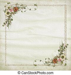 花束, bridal, ボーダー