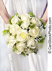 花束, bridal, 日, 結婚式